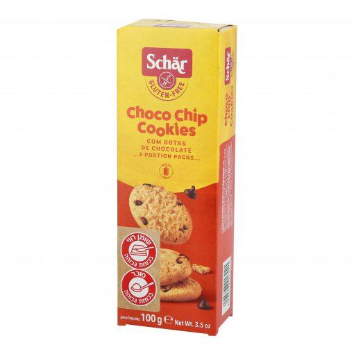 Choco Chip – עוגיות שוקולד צ'יפס ללא גלוטן   Schar