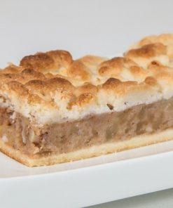 עוגת פס קראמבל תפוחים ללא גלוטן   גלוטן פרי