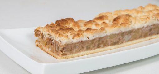 עוגת פס קראמבל תפוחים ללא גלוטן | גלוטן פרי
