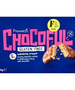 חטיף פריך בציפוי שוקולד חלב ללא גלוטן [עד חצות] | Prewetts