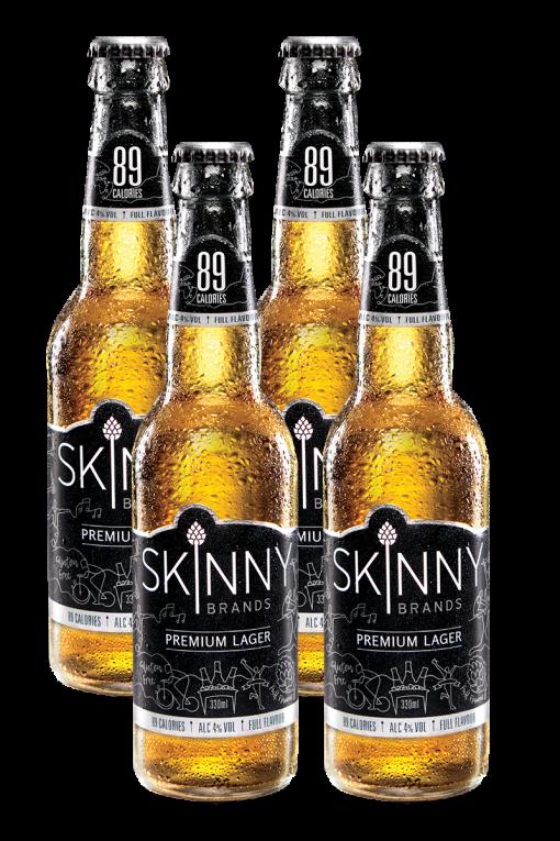 בירה לאגר ללא גלוטן   סקיני