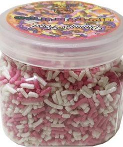 סוכריות לקישוט מקרונים בצבע ורוד לבן ללא גלוטן   דני מזון