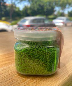 סוכריות לקישוט מקרונים בצבע ירוק ללא גלוטן   דני מזון