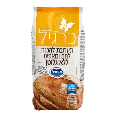 תערובת להכנת לחם ומאפים ללא גלוטן   כרגיל