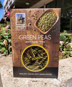 פוזילי אפונה ירוקה אורגנית ללא גלוטן   השדה