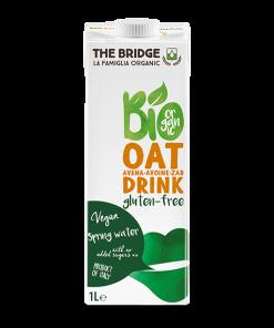 חלב שיבולת שועל ללא גלוטן   the bridge