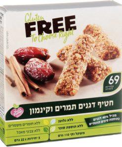 חטיף דגנים תמרים וקינמון ללא גלוטן | FREE