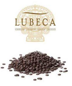 שוקולד מריר מטבעות  55% ללא גלוטן   Lubeca