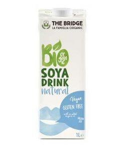 חלב סויה אורגני ללא גלוטן   the bridge