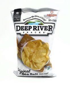 חטיף צ'יפס  טבעי בתוספת מלח | deep river