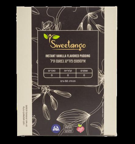 אינסטסט פודינג וניל ללא סוכר   sweetango
