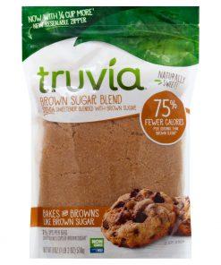 תערובת סוכר קנים חום עם סטיביה | truvia