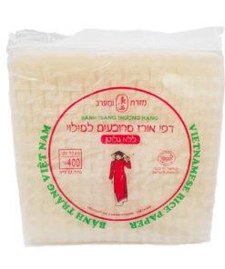 דפי אורז מרובעים ללא גלוטן | מזרח ומערב