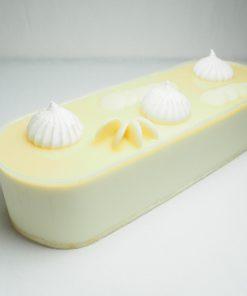 עוגת פס מוס אושר לבן ללא גלוטן   גלוטן פרי