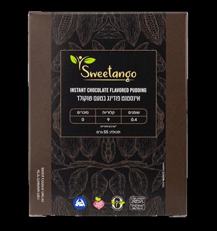 אינסטסט פודינג שוקולד ללא סוכר   sweetango