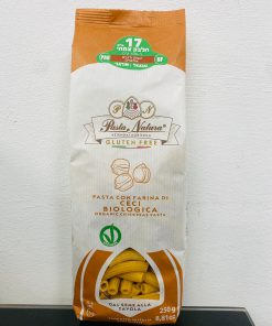 פסטה אורגנית בצורת מקרוני מקמח חומוס עם דגנים ללא גלוטן   Pasta Natura
