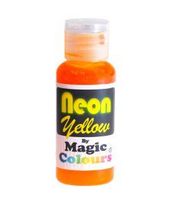 צבע מאכל צהוב ניאון ללא גלוטן   דני מזון