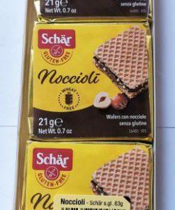 וואפל במילוי קרם אגוזי לוז ללא גלוטן| Schar