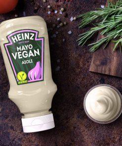 מיונז טבעוני ללא גלוטן בטעם איולי שום | Heintz